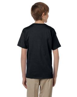 Fruit of the Loom Youth 100% Heavy Cotton HD T-Shirt, XS, BL