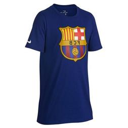 NIKE Youth FC Barcelona Crest T-Shirt