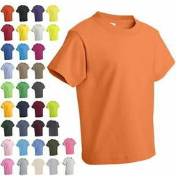 Fruit of the Loom Youth Heavy Cotton Boys & Girls HD T Shirt