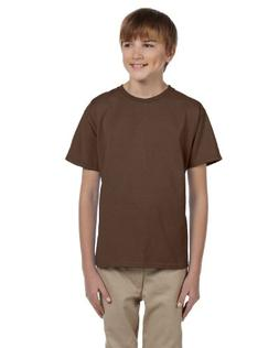 Fruit of the Loom Youth 100% Heavy Cotton HD T-Shirt, XS, CH