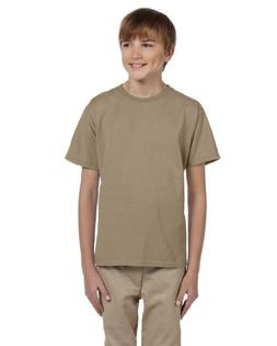 Fruit of the Loom Youth 100% Heavy Cotton HD T-Shirt, Large,