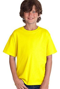 Fruit of the Loom Youth 100% Heavy Cotton HD T-Shirt, XL, NE