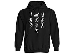 youth hoodie funny emote dances large 10