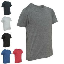 Next Level Youth Kids Tees Tops Boys Triblend Crew Short Sle