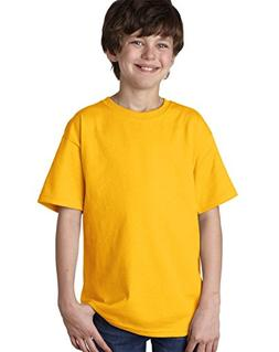 Fruit of the Loom Youth Lofteez HDT-Shirt - Gold - L