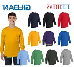 Gildan Youth Long-Sleeve T-Shirt-G540B