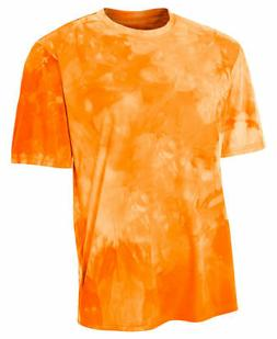 A4 Youth Moisture Wicks Polyester Odor Resistant Short Sleev