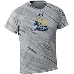 Under Armour Youth Boy's Naval Academy Navy NuTech Tee )