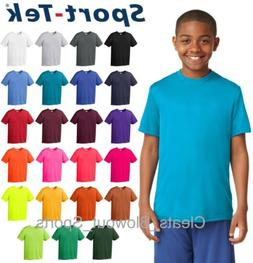 Youth Sport-Tek Dry Fit Workout Performance Moisture Wicking