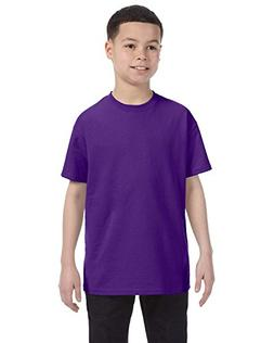Product of Brand Hanes Youth 61 oz Tagless T-Shirt - Purple