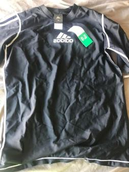 Adidas Youth Tshirt Black XL Size 18 S1/r2/r4
