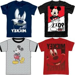 Disney Youth Unisex Tee Shirt Mickey 90th Anniversary Nostal